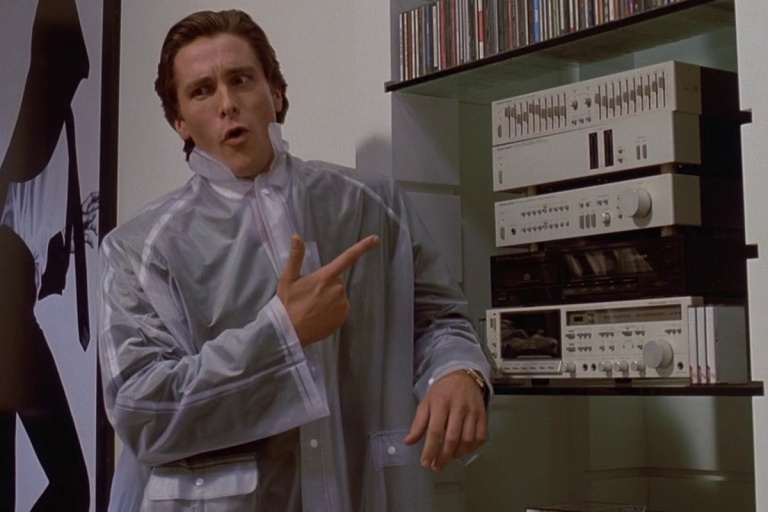 American Psycho Hip to be Square