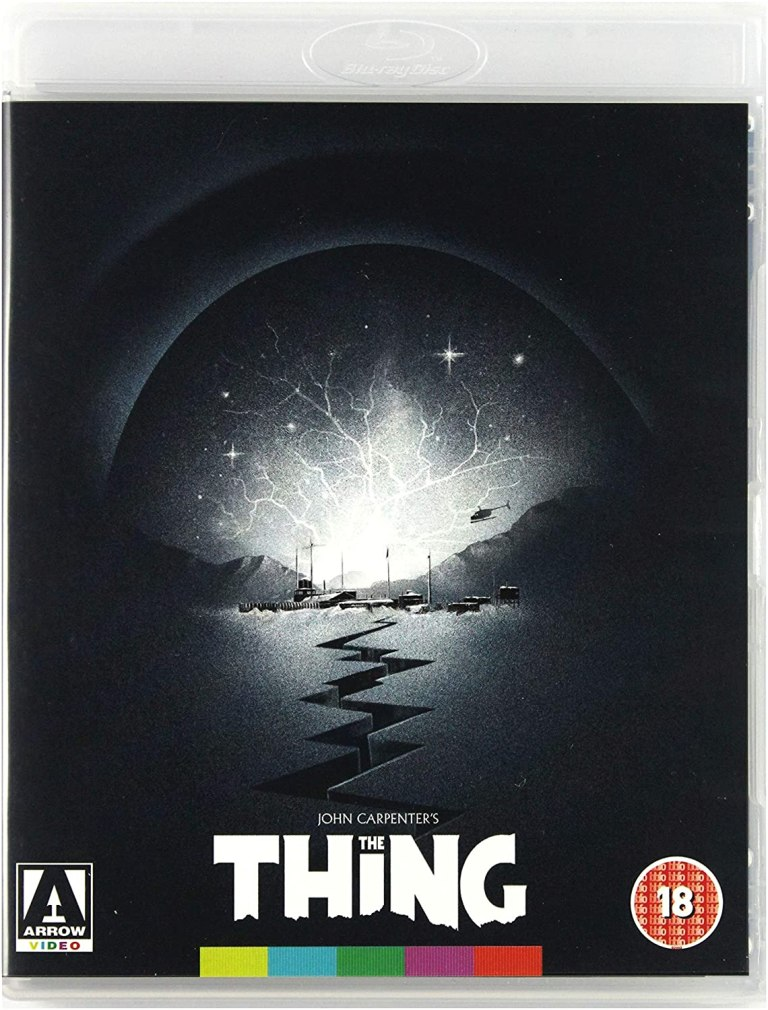 The Thing blu ray