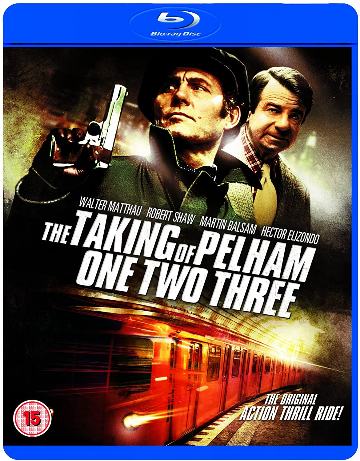 The Taking of Pelham One Two Three Blu Ray
