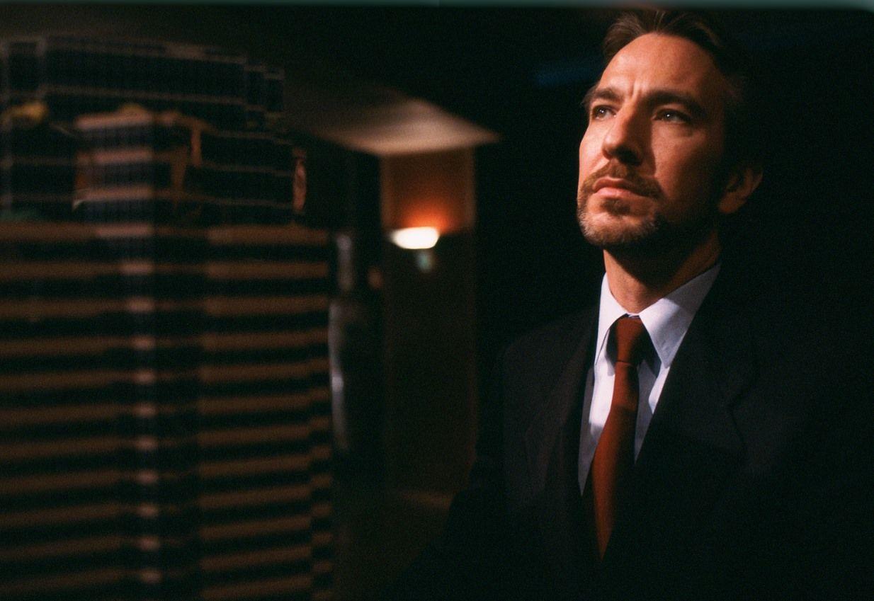 Alan Rickman as Hans Gruber